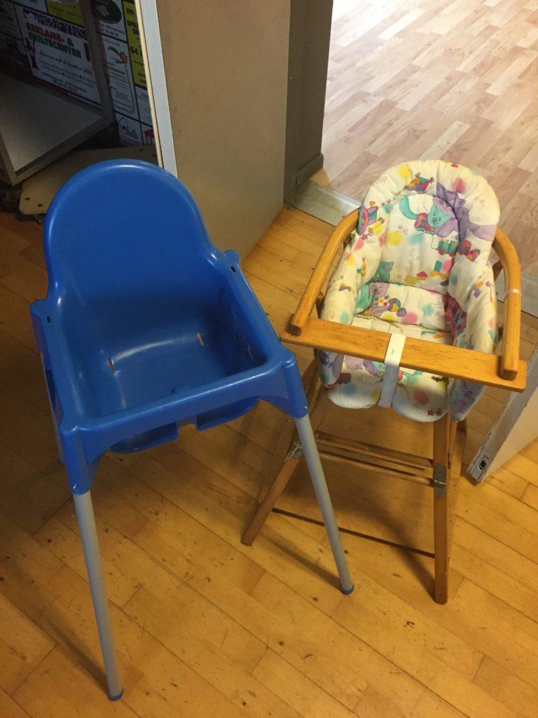2 Børnestole