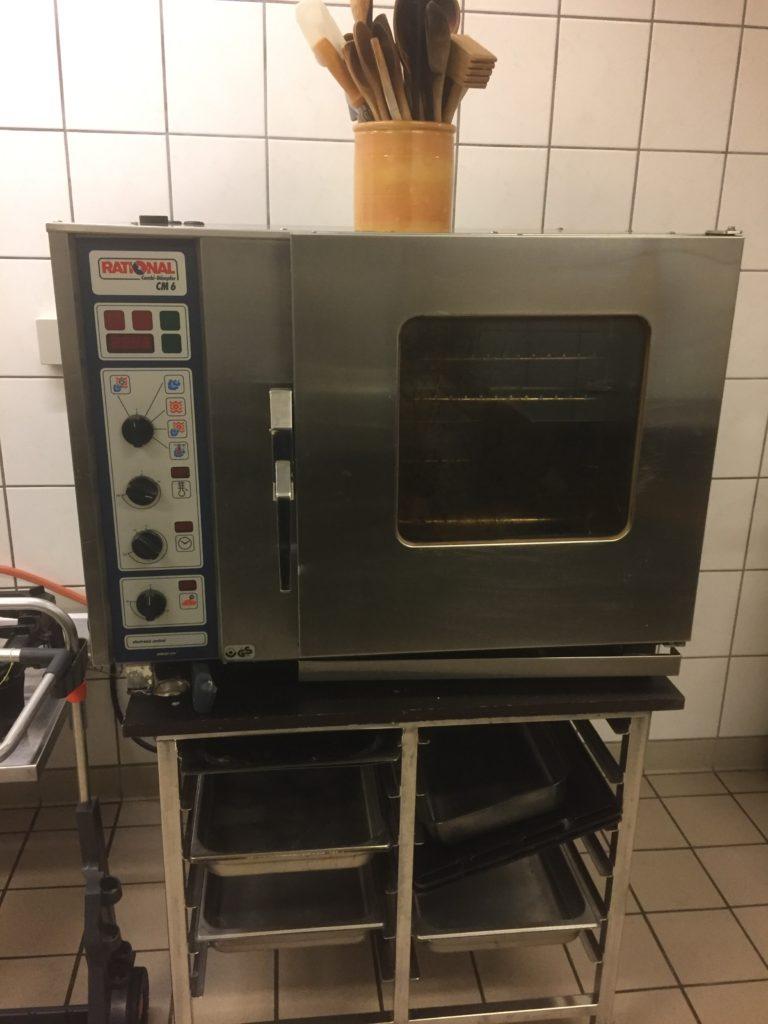 Varmluft ovn med god plads